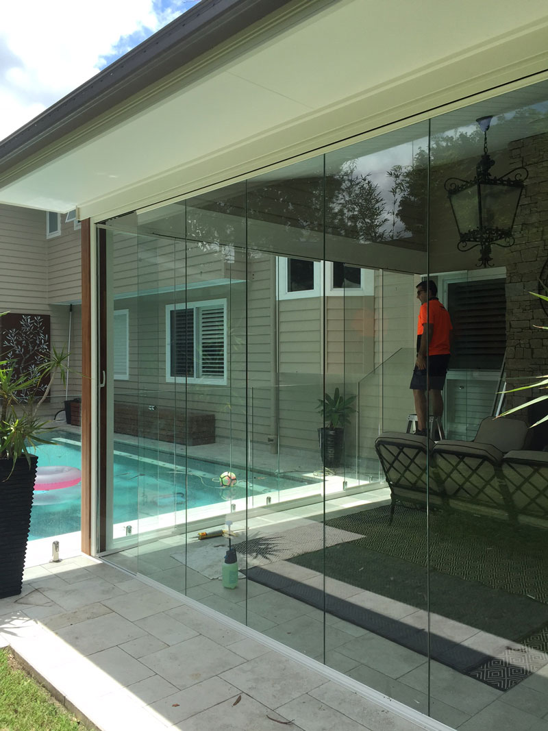 Glass Curtains Seemless Glass Doors For Balconies Patios